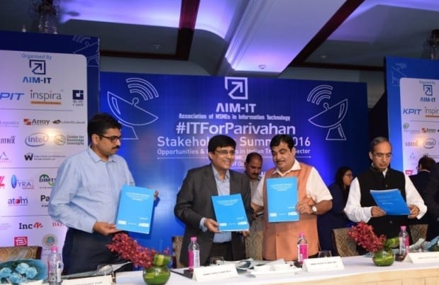 eGov,Transport Ministry, Nitin Gadkari, On Vehicle Smart Module, OVSM, Union Minister of Road Transport & Highways and Shipping, AIMIT, Vinit Goenka