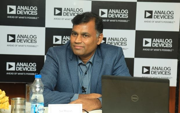 Sai Mopuri, Managing Director, Analog Devices India