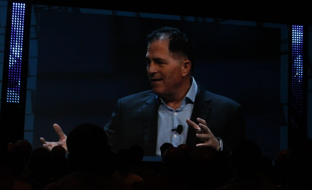 Michael Dell, Chairman and CEO of Dell Technologies. (Express File Photo/Mohd Ujaley)