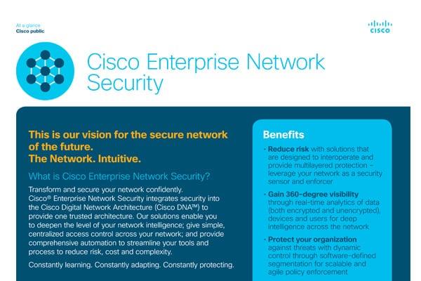 Cisco Enterprise Network Security - Express Computer