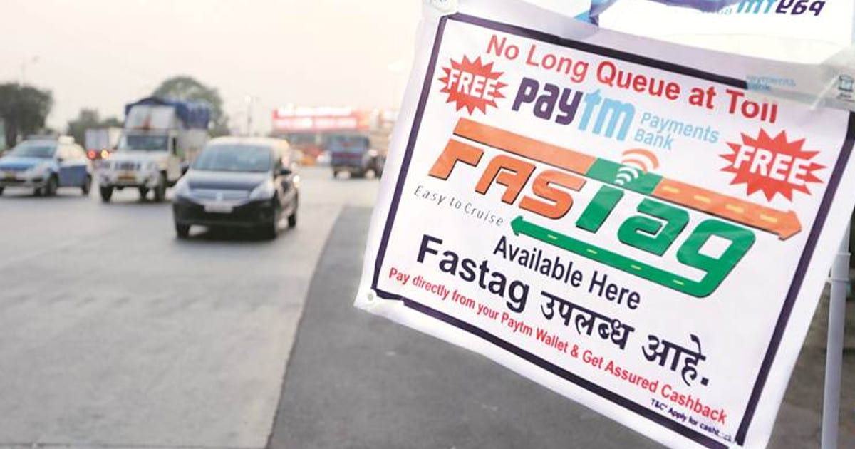 FASTag,Toll Plazas Electronic Toll Collection on National Highways